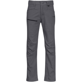 Bergans Lilletind LT Softshell Hose Kinder solid dark grey/solid charcoal